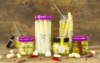 Asparagi verdi agrodolci in olio di Morgan: omaggio alla Lombardia e all'Emilia Romagna
