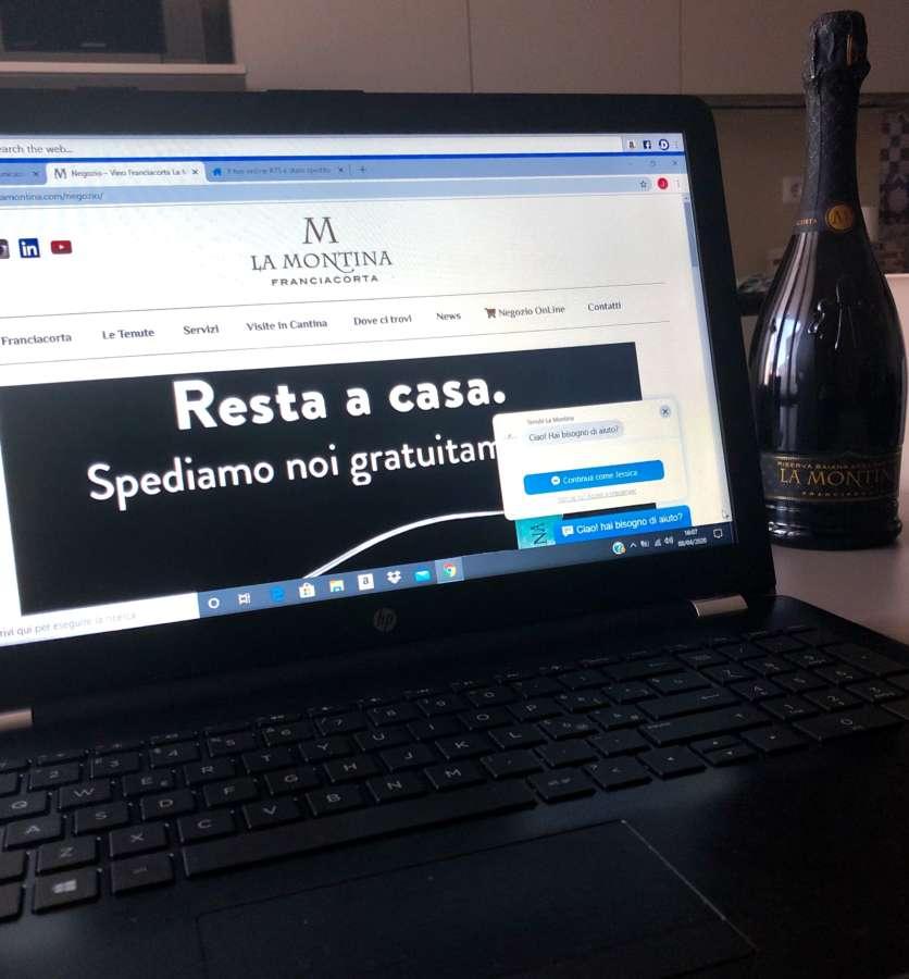 La Montina attiva lo shopping on line con spedizione gratuita