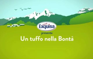 Exquisa, la campagna Tv con Tania Cagnotto!