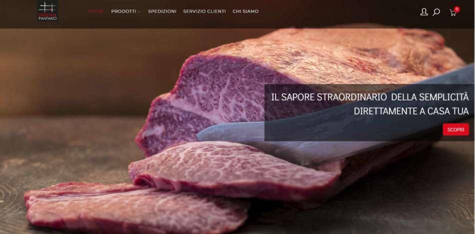 Pantano Carni inaugura il sito di vendita on line