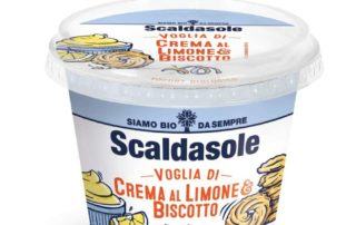 Scaldasole lancia il nuovo Yogurt Crema al Limone&Biscotto
