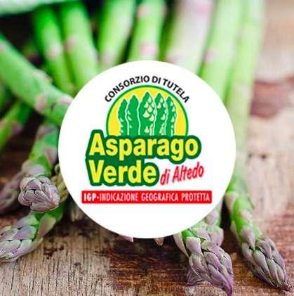 L'Asparago Verde d'Altedo IGP promosso dall'Unione Europea
