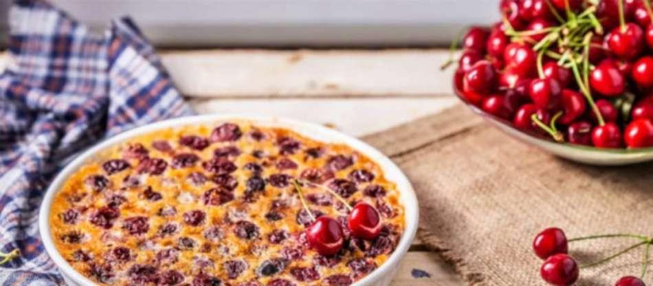 La ricetta del clafoutis alle ciliegie