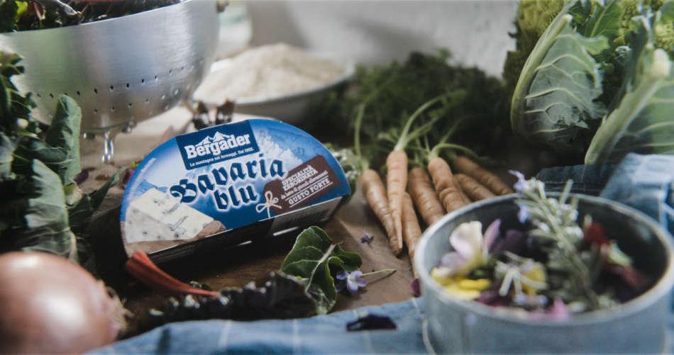 Ricetta stellata con il Bergader Bavaria Blu Forte