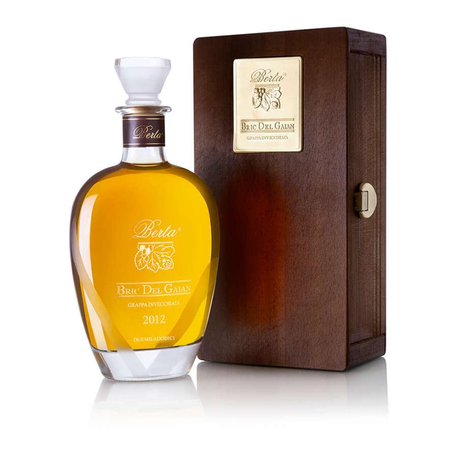 Grappa Bric del Gaian, l'esclusiva edizione limitata delle Distillerie Berta