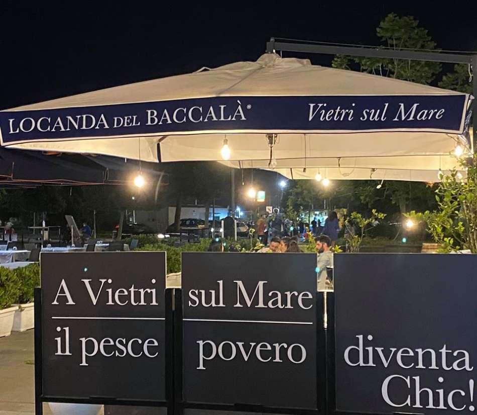Cinquanta sfumature di ... baccalà prossimo cult di Marina di Vietri