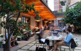 DistrEAT, un piacevole giardino per pause gourmet