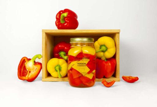 Peperoni in agrodolce di morgan: l'estate racchiusa in un vaso