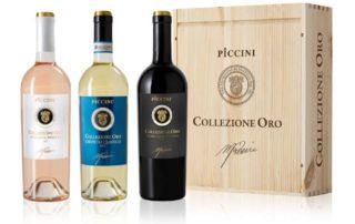Vini Piccini, la Collezione Oro da il benvenuto a tre nuove specialità