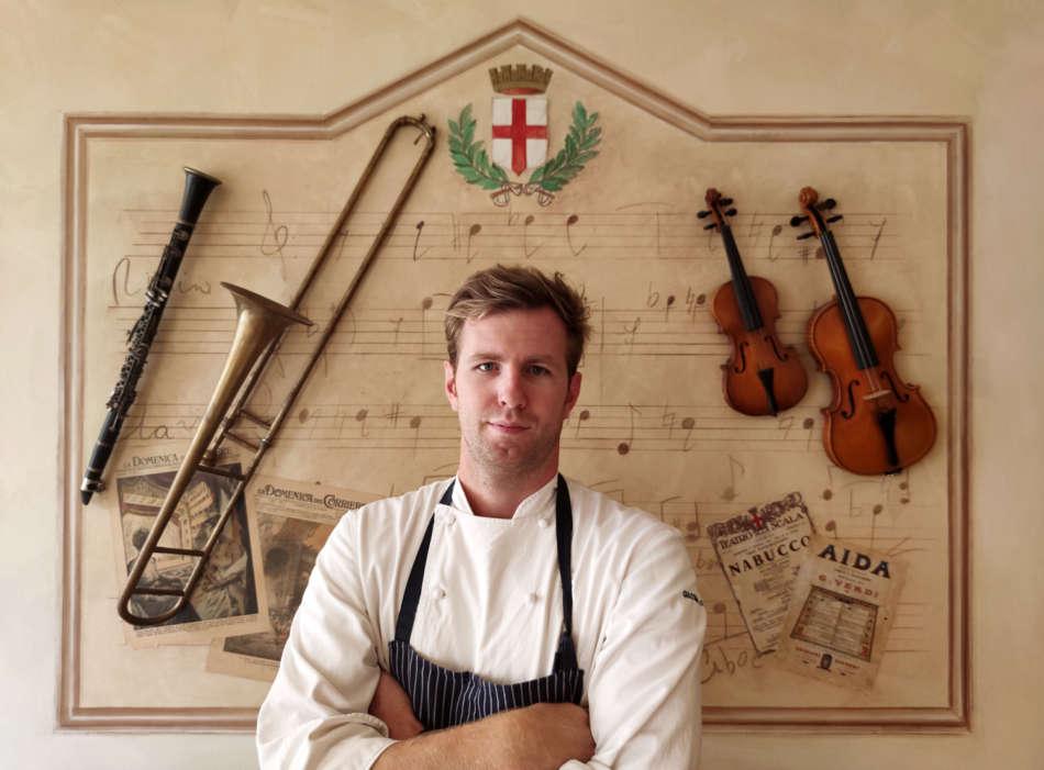 Giacomo Lovato è il nuovo executive chef dell'Enoteca Regionale Lombarda