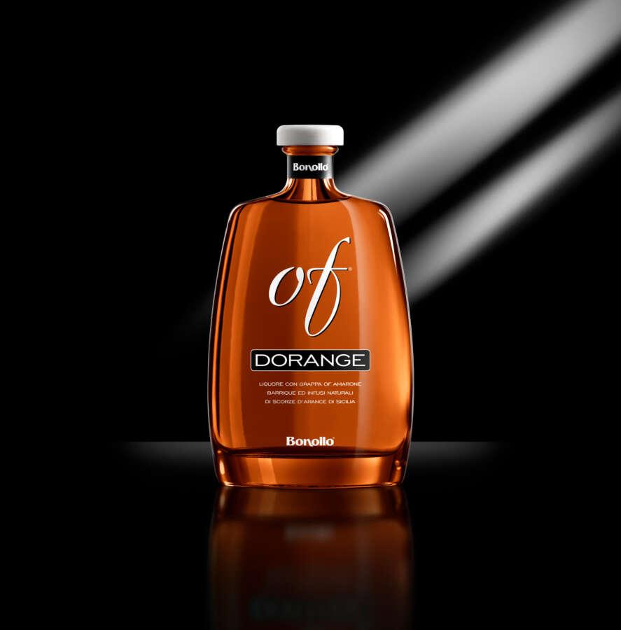 Dorange OF Bonollo, il liquore che profuma d'arancia