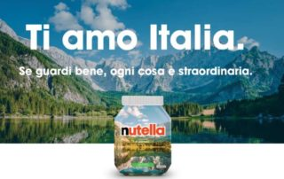 """Nutella Special Edition """"Ti Amo Italia"""", la nuova collezione da non perdere"""
