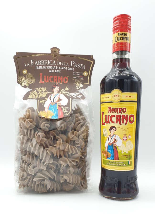 Amaro Lucano presenta la prima pasta alle erbe aromatiche