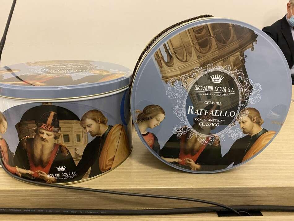 Giovanni Cova & C. celebra Raffaello: panettone speciale