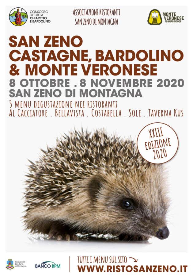 Bardolino, castagne e Monte Veronese: i protagonisti dell'autunno sul Monte Baldo