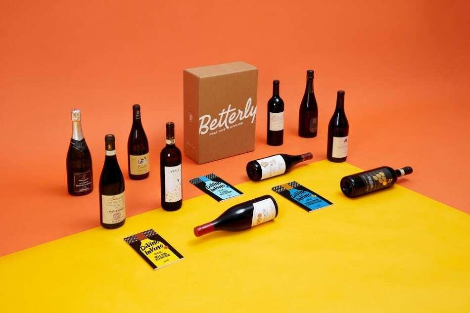 """Betterly presenta le box """"Di Vino in Vino"""""""