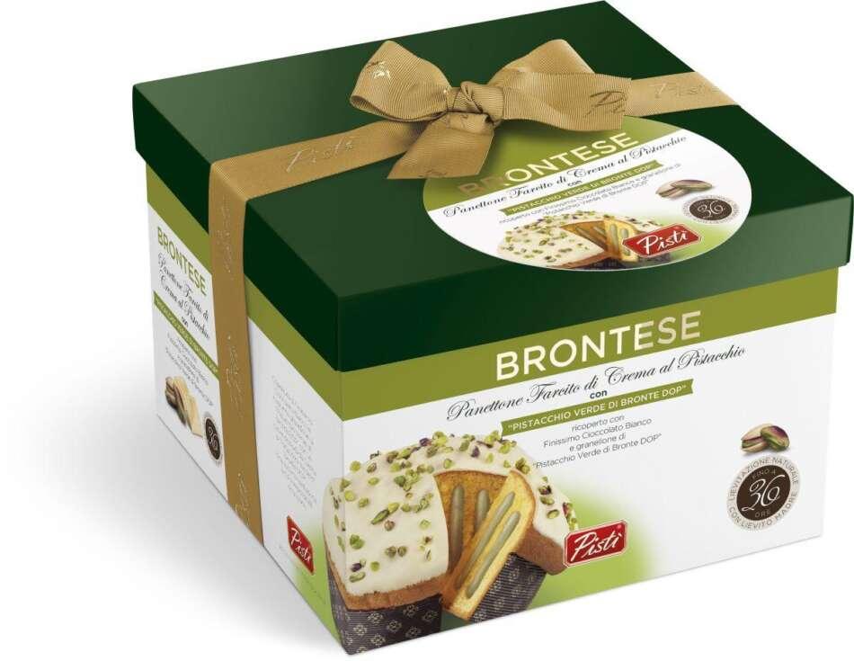 Brontese di Pistì, il panettone al pistacchio