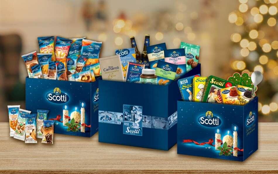Riso Scotti: le gift box per Natale