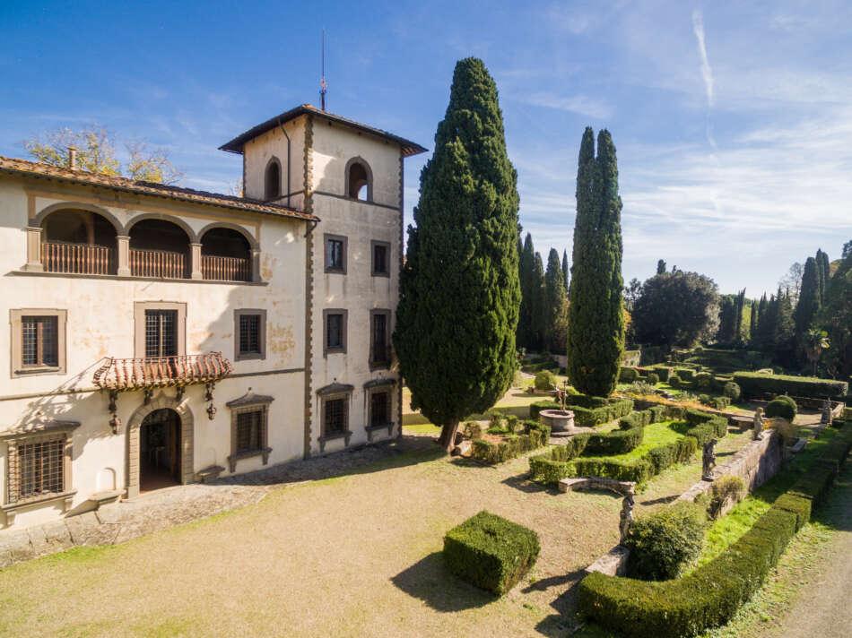 Villa Bibbiani e le sue cinque etichette d'eccellenza
