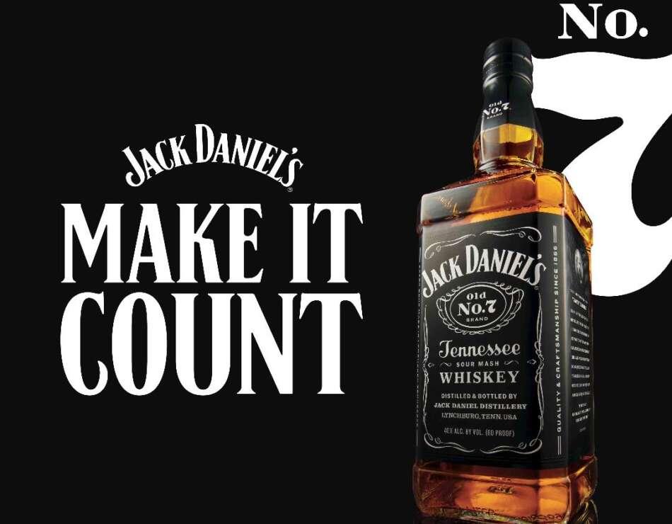 MAKE IT COUNT, nuova piattaforma di comunicazione by Jack Daniel's
