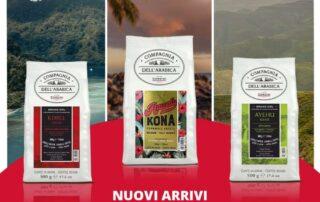 Caffè Corsini presenta tre nuove pregiate varietà di caffè dal mondo