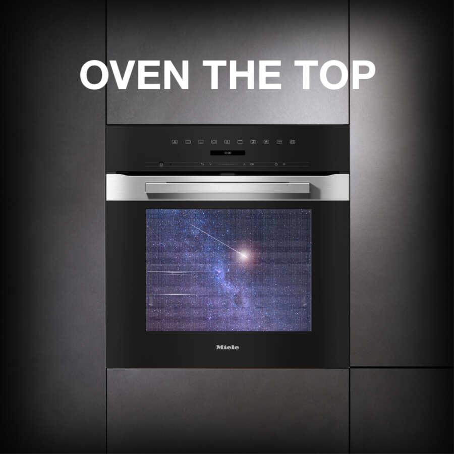 Miele: operazione a premi Oven The Top