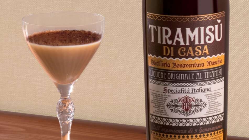 Bonaventura Maschio presenta il nuovo liquore Tiramisù di Casa