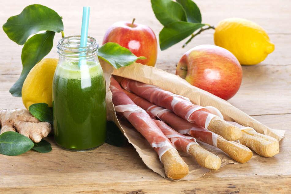 Citterio: salumi e centrifugati di frutta e verdura
