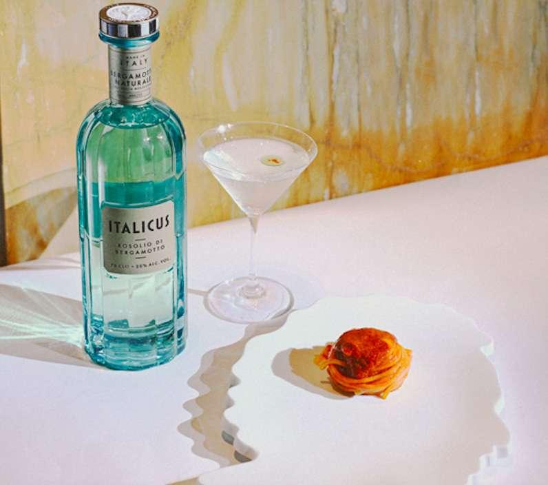 Italicus _giovane Martini + spaghetto al pomodoro