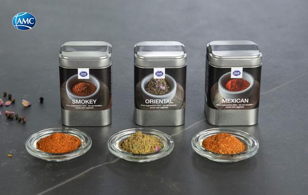 AMC presenta le nuove spezie BBQ, ideali per la grigliata