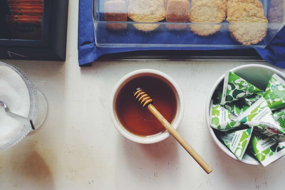 gli zuccheri del miele